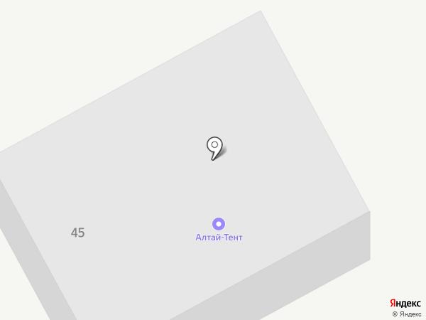 Алтай-Тент на карте
