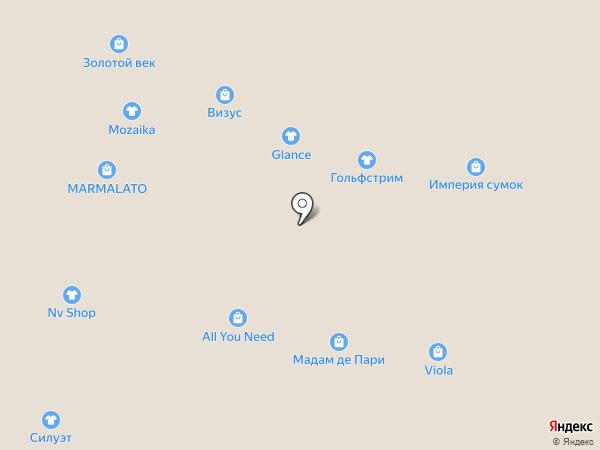 Империя сумок на карте