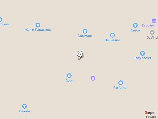 Ledi secret на карте