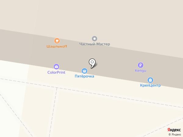 Грида на карте