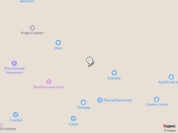 ПИОНЕР на карте