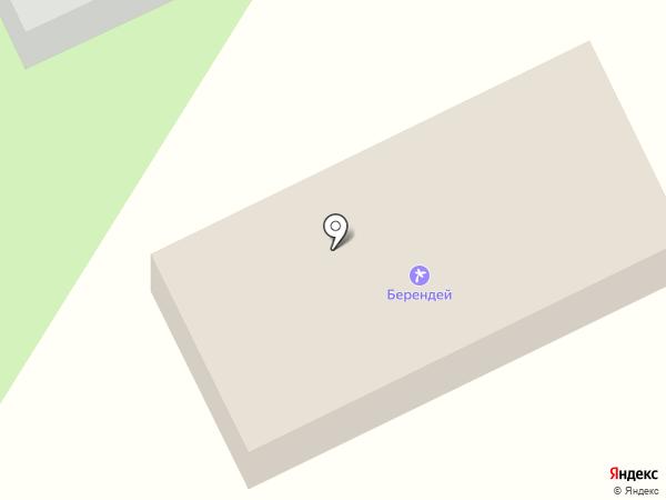 Берендей на карте