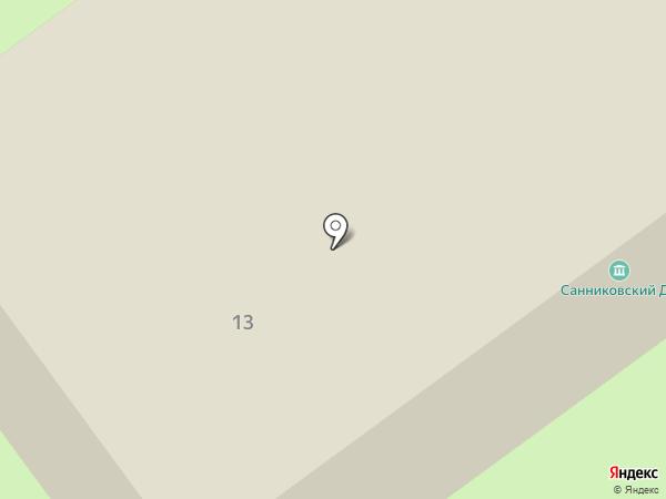 Санниковская поселенческая библиотека на карте