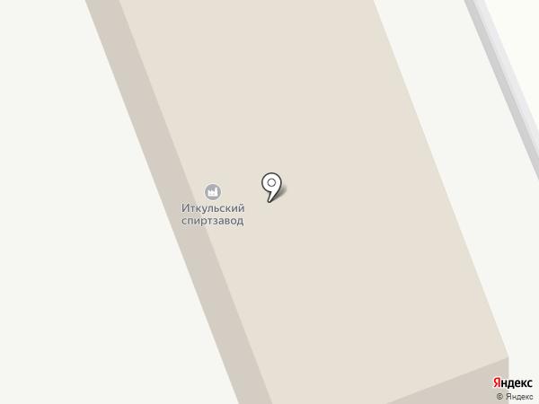 Иткульский спиртзавод на карте