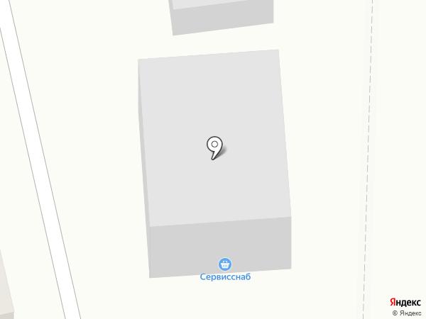 Томский рыбозавод на карте