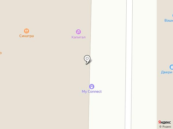 Нэйлс на карте