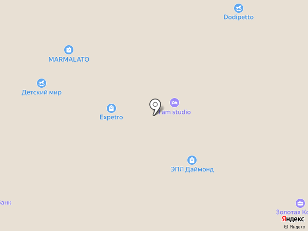 FRADE на карте
