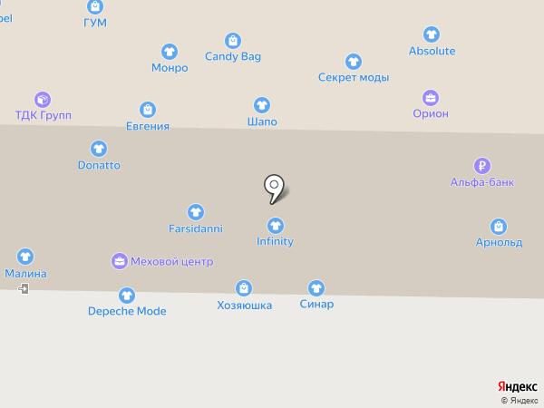 Бизнес-леди на карте