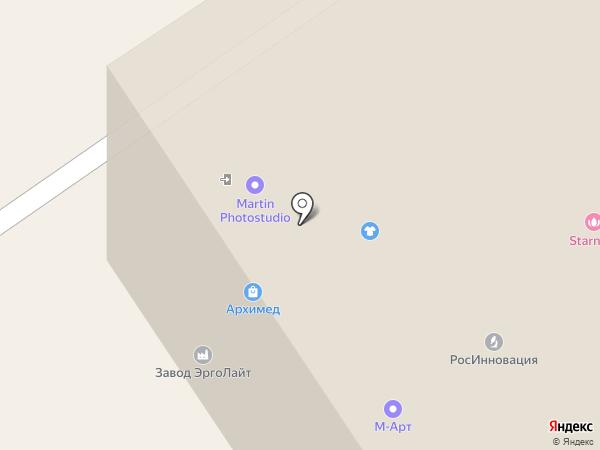 Продакшн Студия 7 на карте