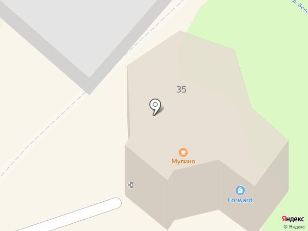 Forvard на карте