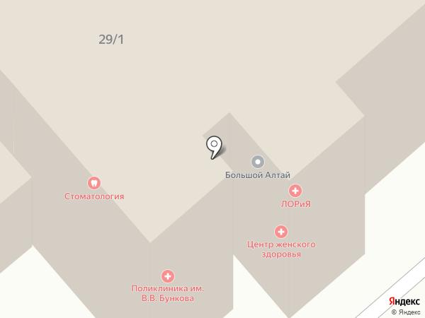 Пилигрим-Алтай на карте