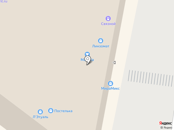 Магикад на карте