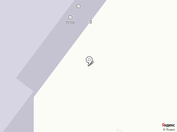 Томский государственный педагогический университет на карте