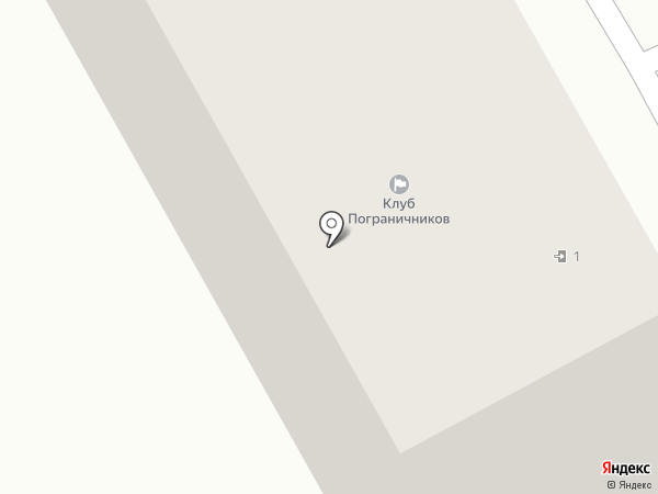 Клуб пограничников на карте