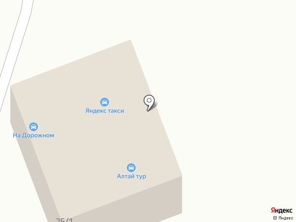 На Дорожном на карте