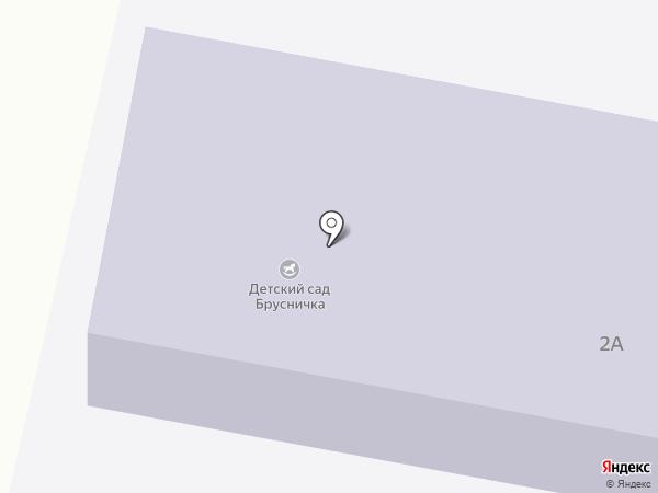 Брусничка на карте