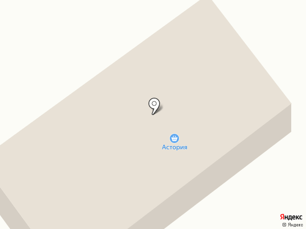 Астория на карте