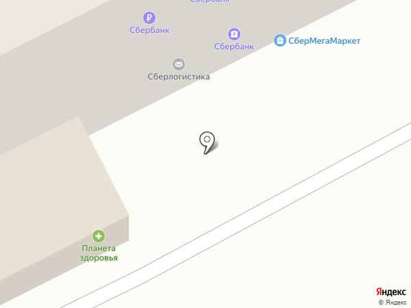 Пенный на карте