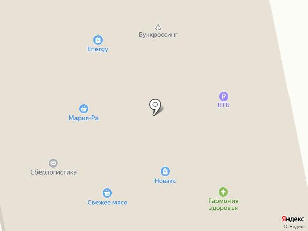 Форне на карте