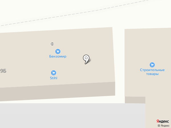 Бензомир на карте
