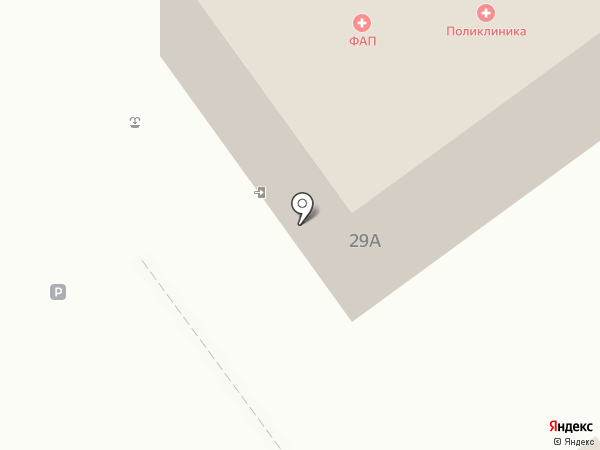 Отделение общей врачебной практики на карте