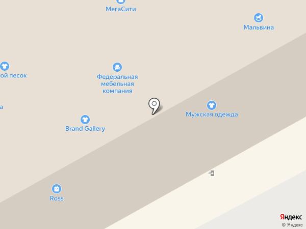Ross на карте