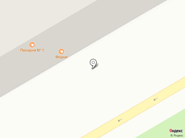 Пекарня №1 на карте