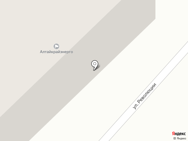 Бийские МЭС на карте