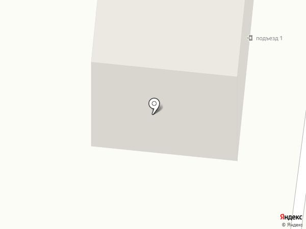 Мотылек на карте