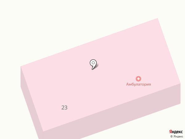 Никольская врачебная амбулатория на карте