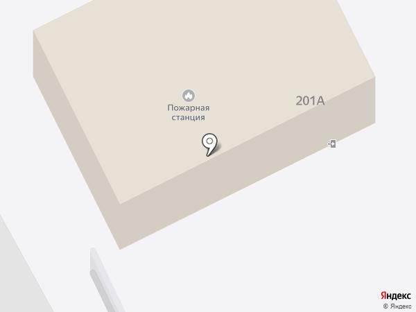Лесная пожарная станция на карте
