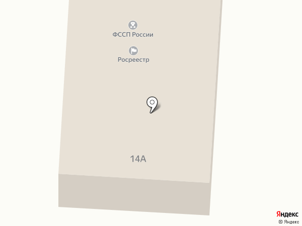 Росреестр, Федеральная кадастровая палата Федеральной службы государственной регистрации на карте