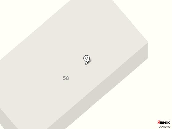 Бригантина на карте