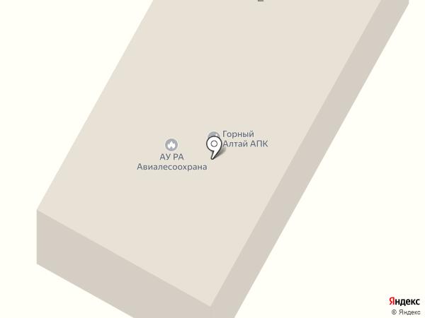 Авиалесоохрана на карте