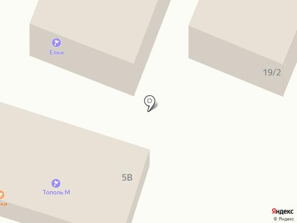 Старуха Шапокляк на карте