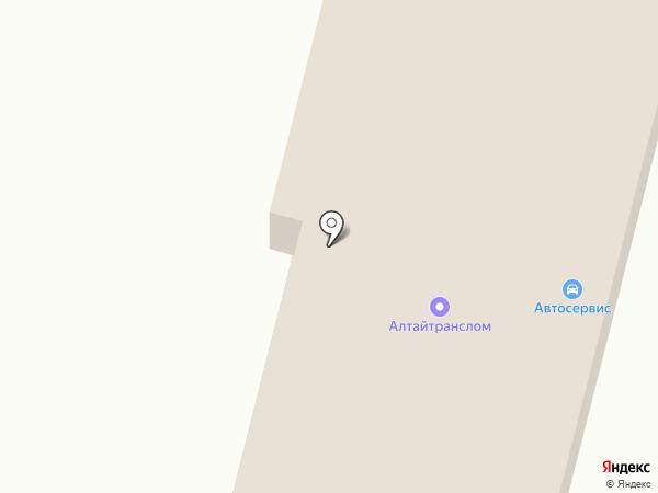 АвтоДиК на карте
