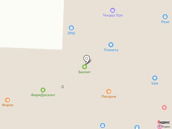 Мобилюкс на карте