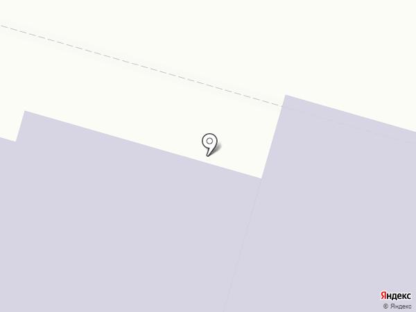 Студенческая на карте