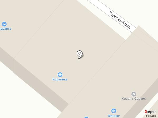 Гауранга на карте