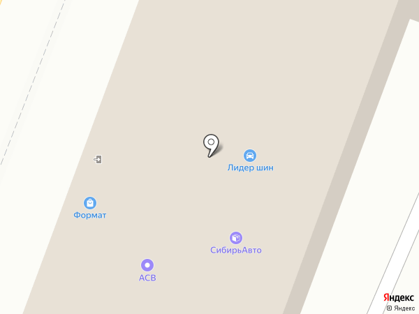 АвтоАккорд на карте