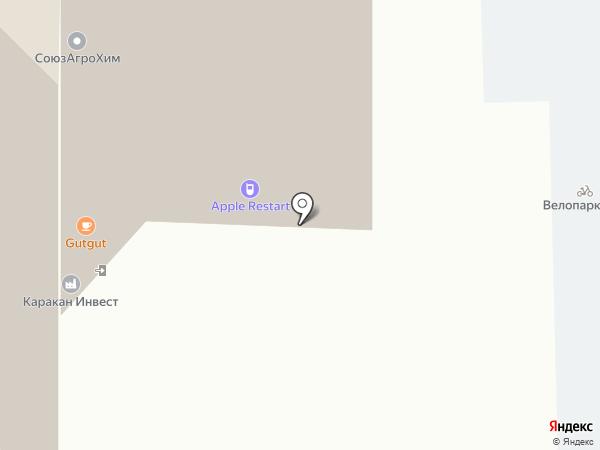 Милтон на карте