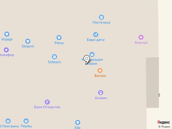 Soblazn на карте