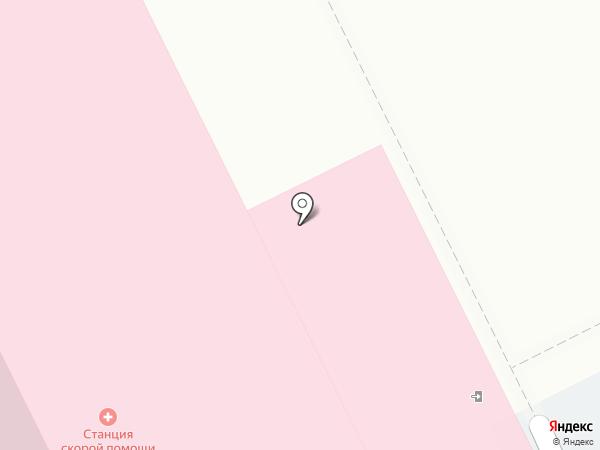 Городская клиническая станция скорой медицинской помощи на карте