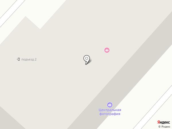 Кнопик на карте