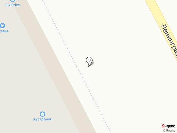 Кренделёк на карте
