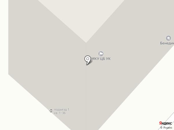 Бенедикт на карте