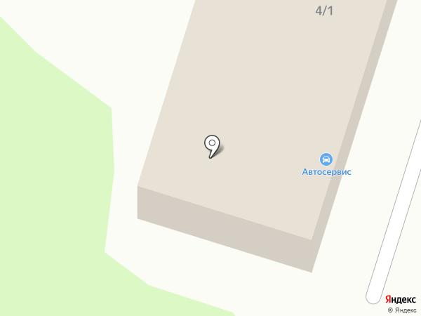 СТО на Пушкина на карте