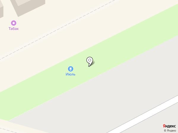 ИЮЛЬ на карте