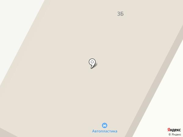 Автопластика на карте