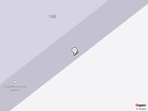 Старобачатская средняя общеобразовательная школа на карте